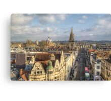 Oxford High Street Canvas Print