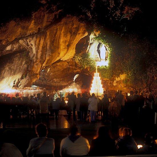 Sanctuary of Lourdes, France 2005 by Michel Meijer