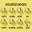 Goldfish Moods by mobii