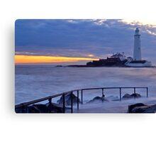 Lighthouse - Sunrise Canvas Print