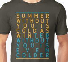 "A Series of Unfortunate Events: ""Summer/Winter"" Unisex T-Shirt"