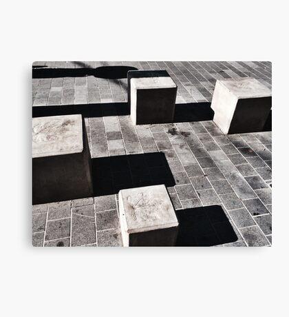 Cubes - Chiara Conte Canvas Print