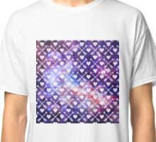 Galactic Tribal Hearts and Arrows Classic T-Shirt