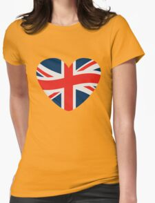 Love Great Britain Heart T-Shirt