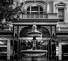 Rundle Mall Fountain Adelaide. by Nicholas Griffin