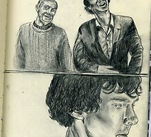 """I dont have friends, I only have one"" by Hayleyat221B"