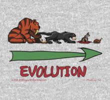 The Evolution of Kitteh Kids Tee