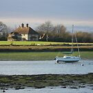 Dell Quay West Sussex by Jacki Stokes