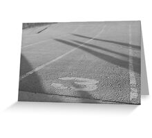 bmx race track Greeting Card