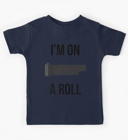 I'm on a Roll Kids Tee