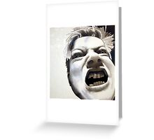 Anger Greeting Card