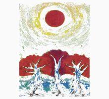 The Sun Three One Piece - Short Sleeve