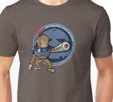Automated Laser Monkey Unisex T-Shirt