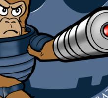 Automated Laser Monkey Sticker