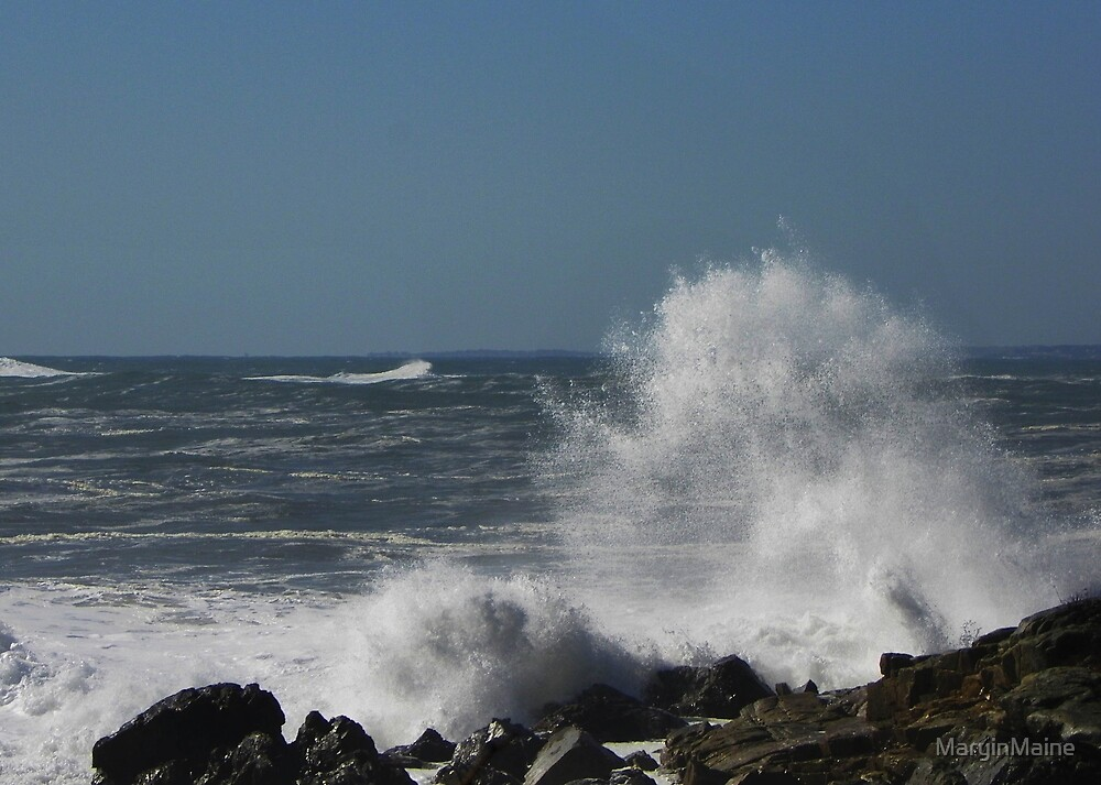 Wild Waves by MaryinMaine