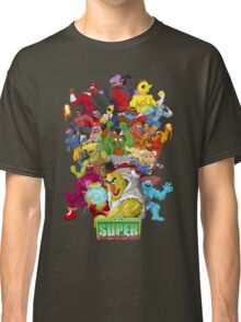 Super Sesame Street Fighter Classic T-Shirt