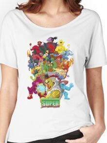 Super Sesame Street Fighter Women's Relaxed Fit T-Shirt