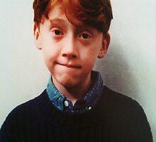 Young Rupert Grint 'Ronald Weasley' by Arrianne Gagen