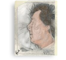"""Goodnight Mr Sherlock Holmes"" Canvas Print"