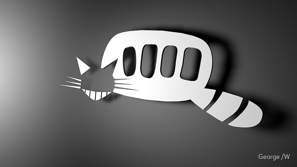 Minimalist Cat Bus by Evender