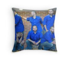 Multiple Matthews Throw Pillow