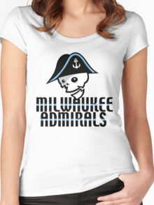 Milwaukee Admirals Women's Fitted Scoop T-Shirt