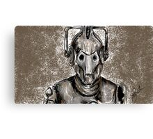 Cyberman Canvas Print
