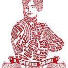 A spirited swami- Vivekananda by Saksham Amrendra