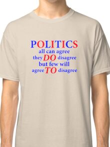agree to disagree Classic T-Shirt