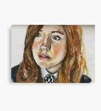 Amelia Pond Canvas Print