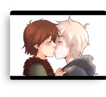 Kiss me! Canvas Print