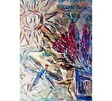 Dragonfly in the Sun Photographic Print