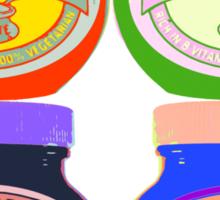 Marmite pop art Sticker