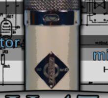 Classic - Neumann U47 Vintage Microphone Sticker