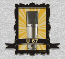 Classic - Neumann U67 Vintage Microphone by AudioEscapades