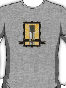 Classic - Neumann U67 Vintage Microphone T-Shirt