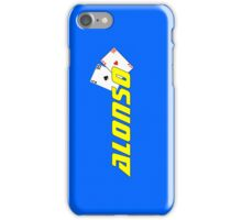 Fernando Alonso (home colours) iPhone Case/Skin