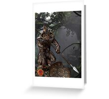 Achilles Predator Greeting Card
