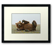 Big Clown, But With Claws Framed Print