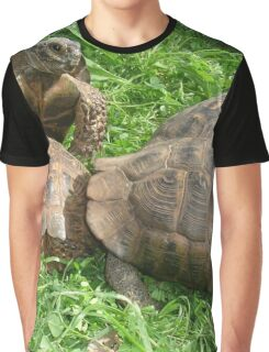 Bullied into Submission - Mating Tortoises Graphic T-Shirt