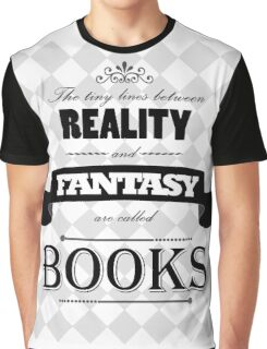 Reality and Fantasy Graphic T-Shirt