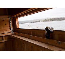 Jimmy birdwatching Photographic Print