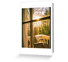My Balcony In The Trees Greeting Card
