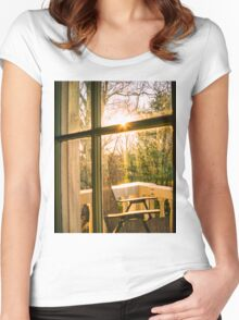 My Balcony In The Trees Women's Fitted Scoop T-Shirt