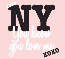You Know You Love Me by jaxrobyn