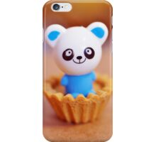 Panda in a pie crust iPhone Case/Skin