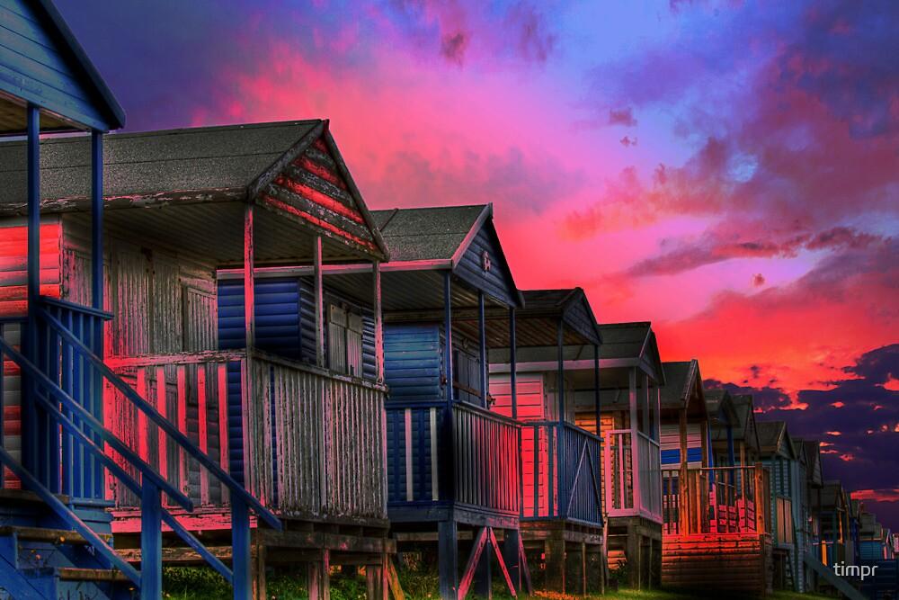 Tankerton Beach Huts by timpr