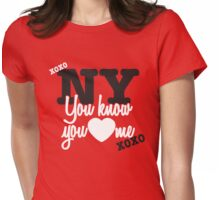 You Know You Love Me - XOXO Womens Fitted T-Shirt