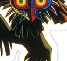 Majora's mask Sticker