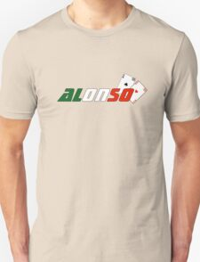 Fernando Alonso (Italian colours) Unisex T-Shirt